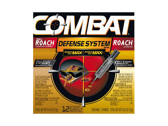 Combat® 51962 Dual Attack Roach Killing Gel Plus Roach Baits