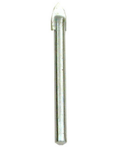 "Master Mechanic 282798 Glass & Tile Carbide Tipped Drill Bit, 1/8"" x 2-1/4"""