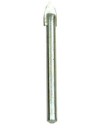 "Master Mechanic 282806 Glass & Tile Carbide Tipped Drill Bit, 3/16"" x 2-1/4"""