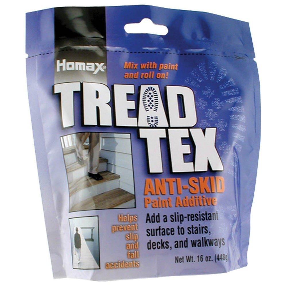 Homax® 8600-6 Tread-Tex Anti-Skid Paint Additive, 16 Oz