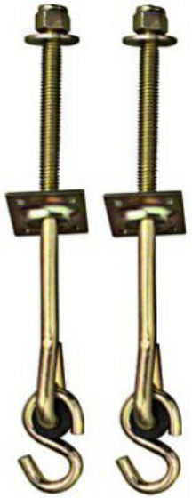 National Hardware® N264-077 Machine Screw Swing Hook Kit, 2-Pack