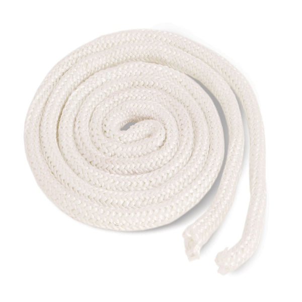 "Imperial GA0175 Replacement Fiberglass Gasket Rope, 3/4"" x 50', White"