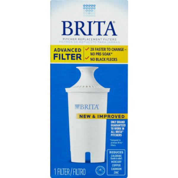 Brita® 35512 Water Pitcher Replacement Filter, 1 Count