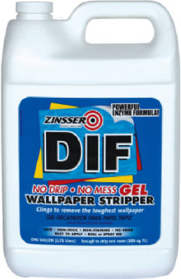 Zinsser 02431 DIF Gel Ready-to-Use Wallpaper Stripper, 1-Gallon