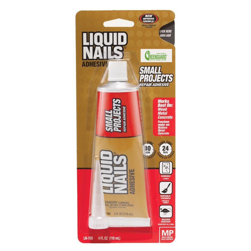 Liquid Nails® LN-700 Small Projects Repair Adhesive Tube, 4 Oz