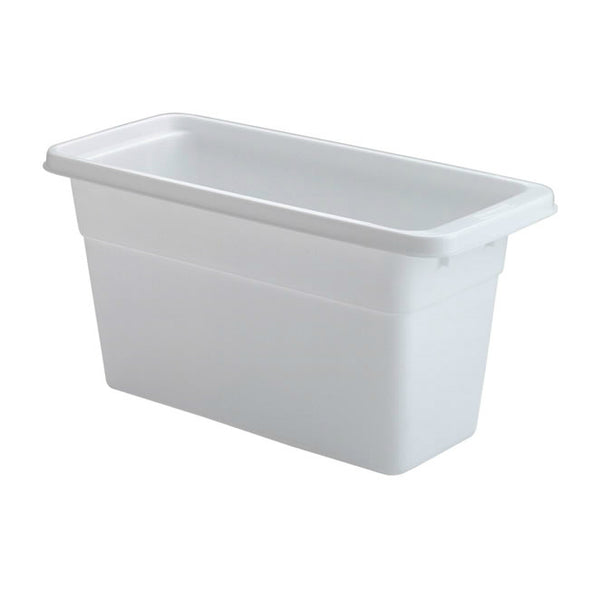 Rubbermaid® 2862-RD-WHT Ice Cube Bin, White