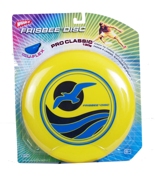 Wham-O® 81110 Frisbee® Pro-Classic® Disc, Assorted Colors, 130 Gram, 1-Qty