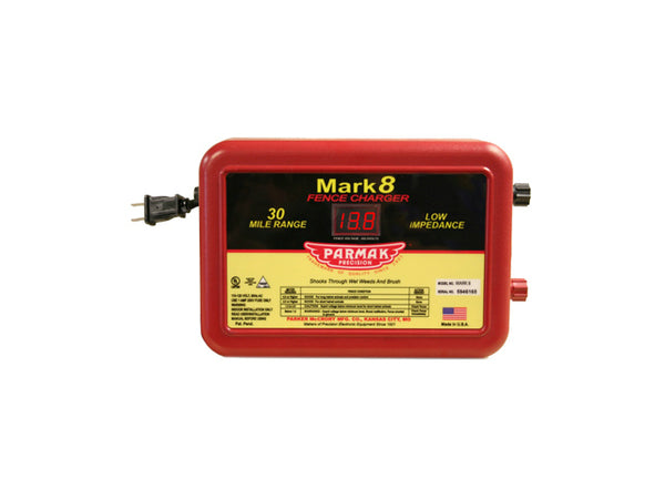 Parmak® MARK-8 Multi-Power Mark 8 Electric Fencer, 110-120 Volt AC Operated