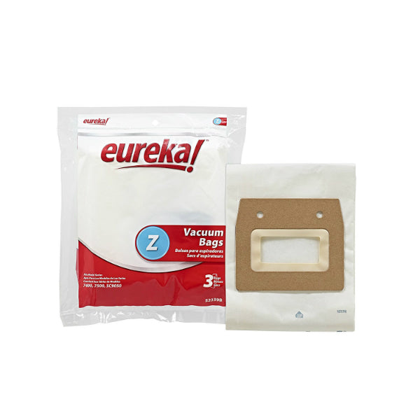 Eureka® 52339B Style Z Vacuum Cleaner Bag, 3-Pack