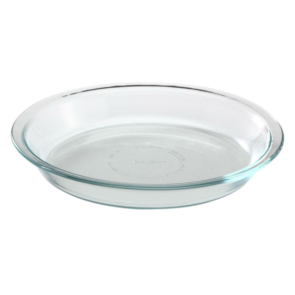 Pyrex® 6001003 Glass Pie Plate, Clear, 9""
