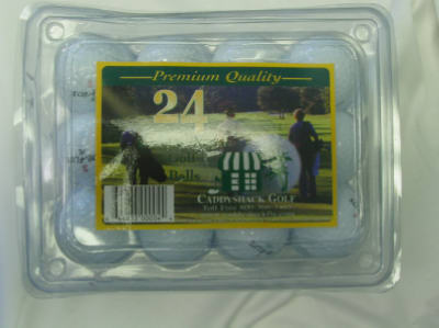 Reconditioned Golf Ball 24-Pack