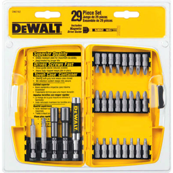 DeWalt® DW2162 Screwdriver Bit Set, 29-Piece