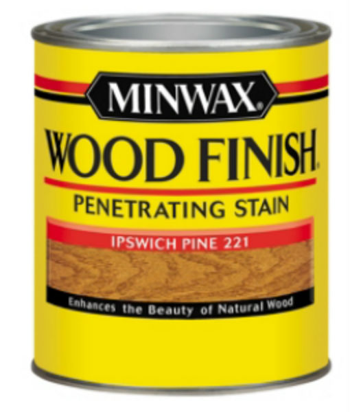 Minwax® 70004 Wood Finish™ Penetrating Wood Stain, Ipswich Pine (221), 1 Qt