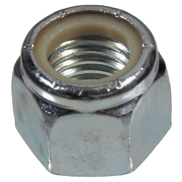 Hillman Fastener 180159 Coarse Thread Nylon Insert Nut Lock, Zinc, 1/2 - 13