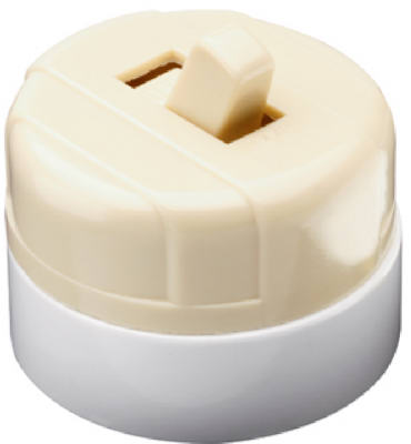 Pass & Seymour 735ICC10 Surface Mounted Switch, Ivory