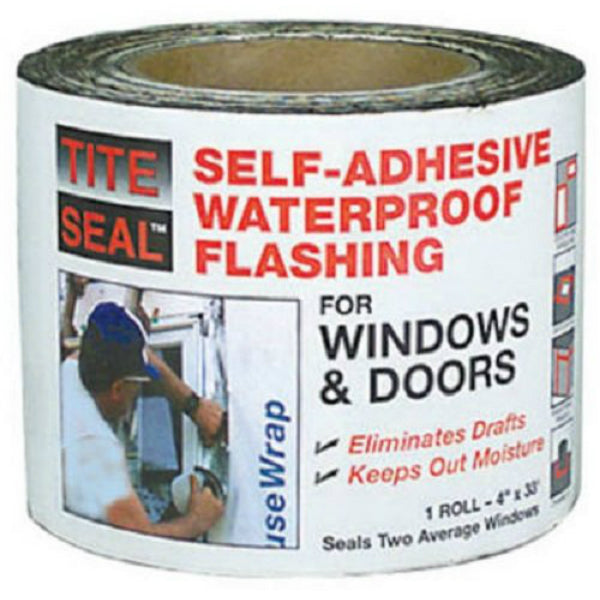 "Tite-Seal® TS-433 Self-Adhesive Waterproof Window & Door Flashing, 4"" x 33'"