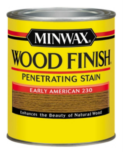 Minwax® 70008 Wood Finish™ Penetrating Wood Stain, Early American (230), 1 Qt