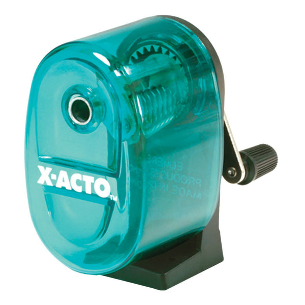 X-Acto® 1065 Bulldog Wall Mount Manual Pencil Sharpener, Assorted Colors