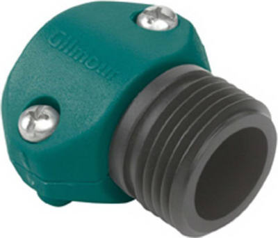 "Gilmour 01M Male Coupler, 5/8"" And 3/4"""