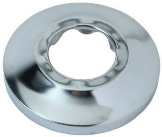 BrassCraft PS32 Shallow Pipe Cover Flange, Chrome Finish