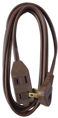 Master Electrician 09407ME Low Profile Extension Cord, 13A, 7', Brown