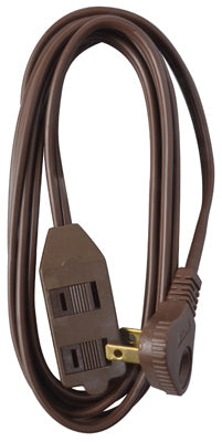 Master Electrician 09409ME Low Profile Extension Cord, 13A, 11', Brown