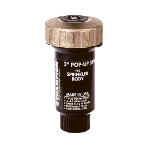 Champion Irrigation FPB2ASA Adjustable Underground Sprinkler Head, 2""