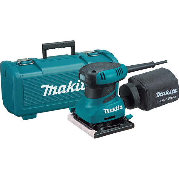 Makita® BO4556K 1/4-Sheet Finish Sander, 14000 OPM