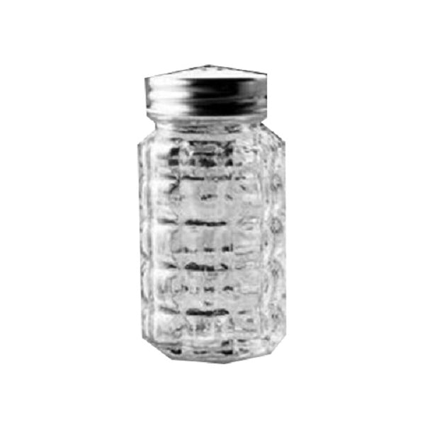 "Anchor Hocking 35248 Salt & Pepper Shaker, 3-1/4"", Crystal"