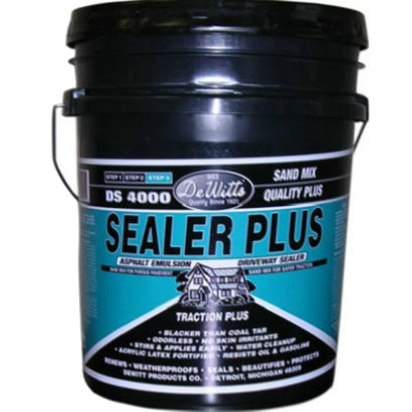 DeWitt's 503-5 Filler/Sealer Asphalt Emulsion, DS 4000 Plus, 4.75 Gallon