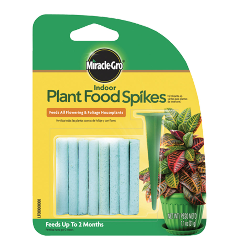Miracle-Gro® 1002522 Indoor Plant Food Spikes, 1.1 Oz, 6-12-6