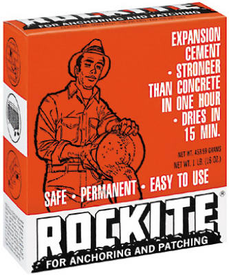 Rockite 10001 Anchoring Expansion Cement for Anchoring & Patching, 1 Lb