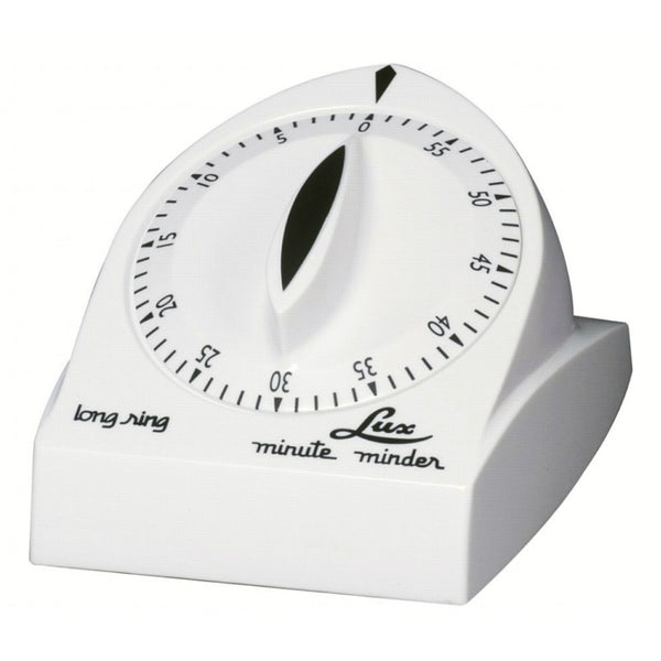 Lux™ CP1929-14 Minute Minder Long Ring Cooking Timer, White