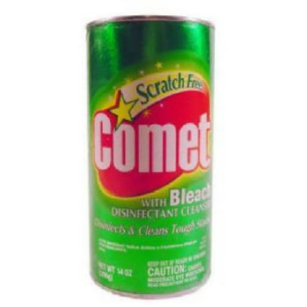 Comet® 84919492 Powder Cleanser with Chlorinol for Bleaching, 14 Oz
