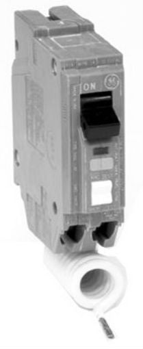 GE THQL1115AFP Single Pole Arc Fault Circuit Breaker, 15 Amp