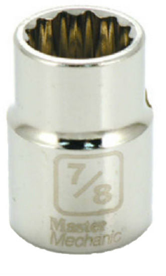 "Master Mechanic 350900 12-Point Socket, 3/4"" Drive, 7/8"""