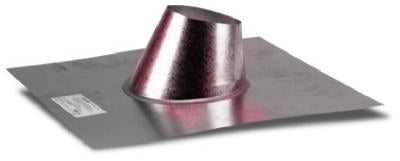 "Selkirk 243825 Adjustable Pellet Pellet Vent Flashing, 3"", #3VP-AF"