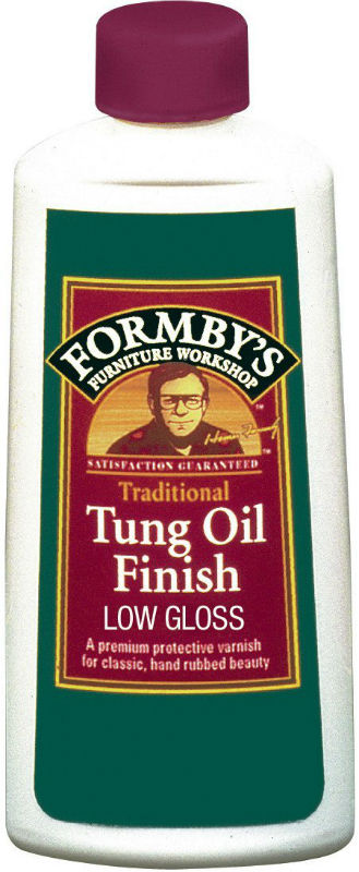 Formby's® 30069 Low Gloss Tung Oil Finish, 8 Oz