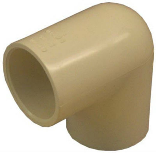 Genova 50710 CPVC 90-Degree Elbow, 1""