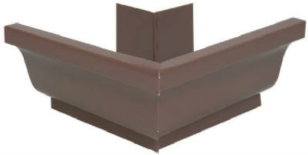 "Amerimax 2520219 Aluminum Outside Mitre, 5"", Brown"