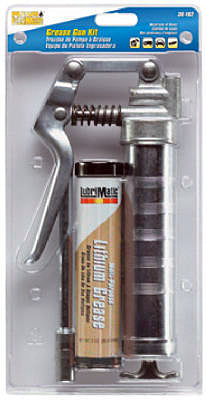 Plews LubriMatic™ 30192 HD Mini Multi-Purpose Midget Grease Gun Kit, 3 Oz