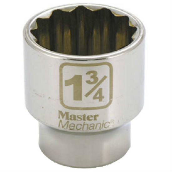 Master Mechanic 362764 12-Point Socket, 1-3/4""