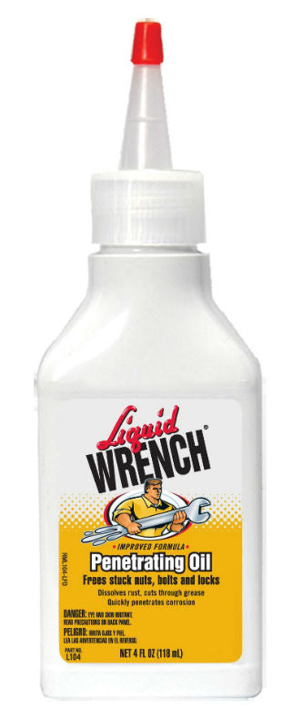 Liquid Wrench L104 Penetrating Oil with Cerflon, 4 Oz