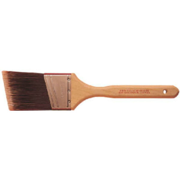 "Purdy® 144152220 Nylox™ Glide™ Angular Sash & Trim Brush, 2"", 9/16"" Thickness"