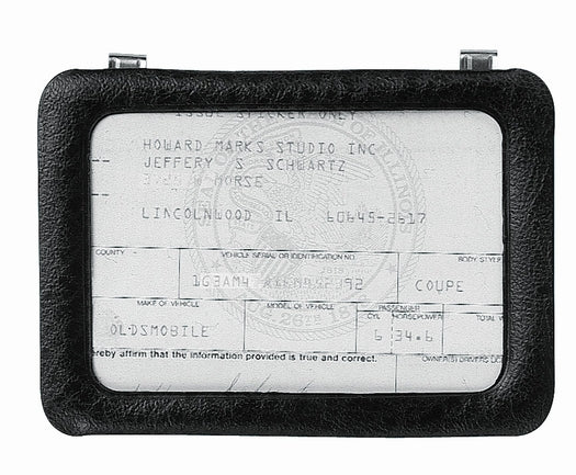 Custom Accessories 43331 Clip-On Certificate Holder