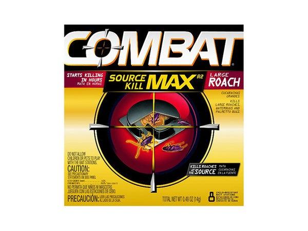 Combat® 51913 Superbait Roach Bait for Large Roaches, 8 Count