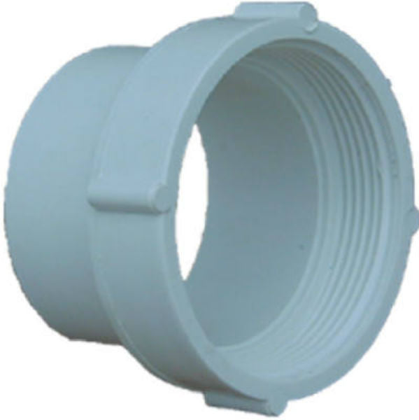 "Genova S41639 Styrene Fitting Cleanout Body, 4"", Spigot x Female Pipe Thread"