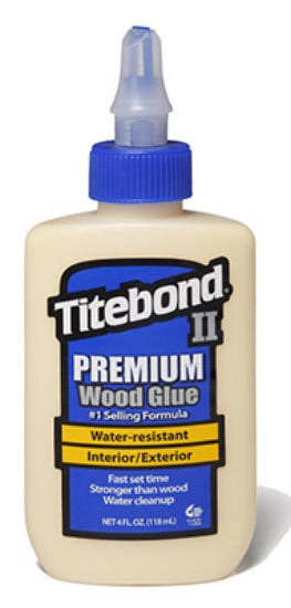Titebond II 5002  Premium Wood Glue, 4 Oz