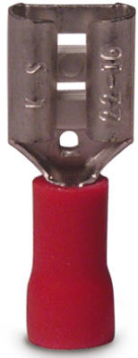 Gardner Bender 10-141F Female Disconnect, 22-16 AWG, Red