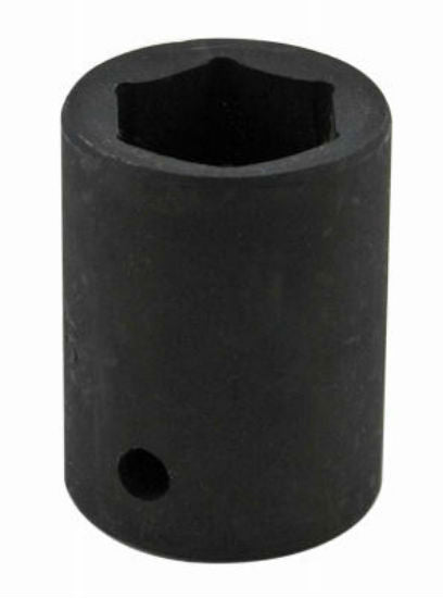 "Master Mechanic 39010 6-Point Impact Socket, 1/2"" Drive, Chrome Moly"